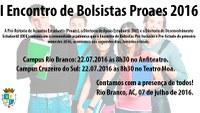Pró-Reitoria de Assuntos Estudantis - Proaes - Convite