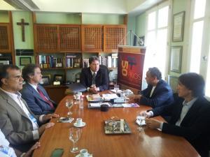 Prof. Pascoal Muniz representa a Ufac em reunião de reitores e vice-reitores na UFF