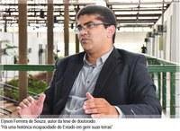Professor da Ufac defende tese na Unicamp, sobre governança de terras