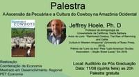 Professor da Universidade da Califórnia profere palestra na Ufac