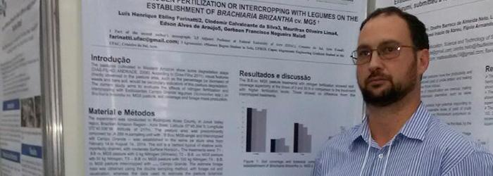 Professor do campus Floresta faz pós-doutorado em Zootecnia na UFRGS