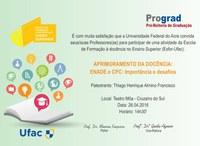Prograd - Esfor-Ufac - Cruzeiro do Sul - Convite