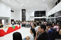Reitor da Ufac homenageia alunos e servidores do campus de Cruzeiro do Sul