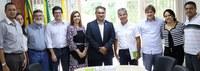 Reitor da Ufac recebe visita do vice-presidente do Senado