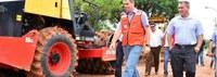 Reitor e prefeito inspecionam obras do Terminal de Integração da Ufac