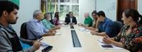 Reitor recebe visita do secretário estadual de Educação