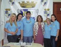 Reitora recebe participantes do Programa Intercâmbio de Grupos de Estudo – Rotary Internacional