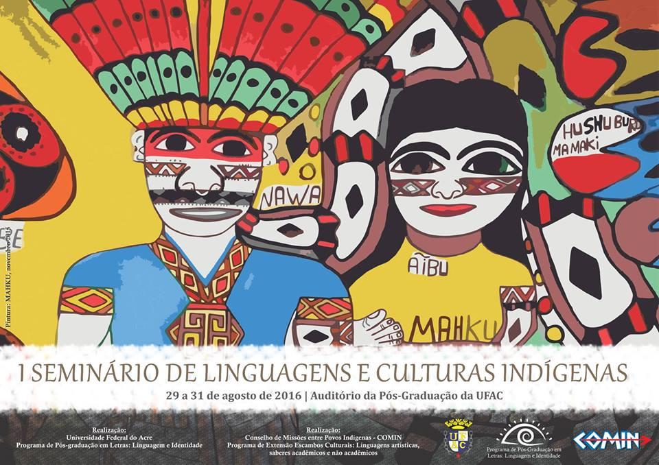 Ufac abre inscrições para seminário sobre linguagens e culturas indígenas