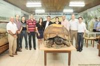 Ufac apresenta maior fóssil de jabuti do mundo