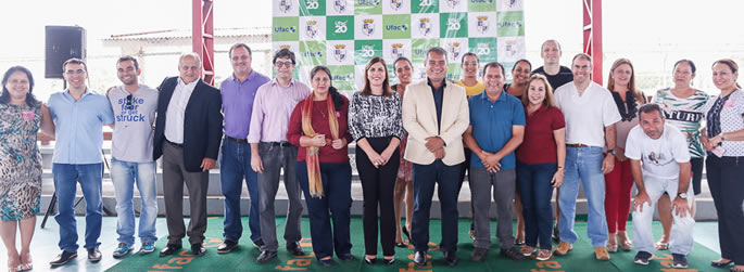Ufac assina contrato para construção da 1ª pista oficial de atletismo do Acre