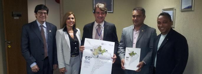 Ufac busca apoio para 66ª SBPC, em Brasília