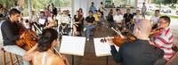 Ufac Cultural realiza apresentações no quiosque Recanto das Capivaras