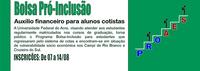 Ufac divulga edital para 600 bolsas do Pró-Inclusão