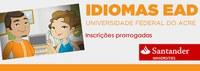 Ufac divulga Entrega dos Vouchers para os bolsistas contemplados da escola de idiomas a distância - EAD/Santander