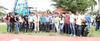 Ufac entrega implementos agrícolas