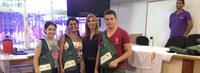 Ufac faz entrega de kits educacionais para calouros
