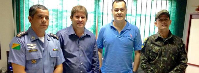 Ufac firma parceria para policiamento em fazendas de pesquisa