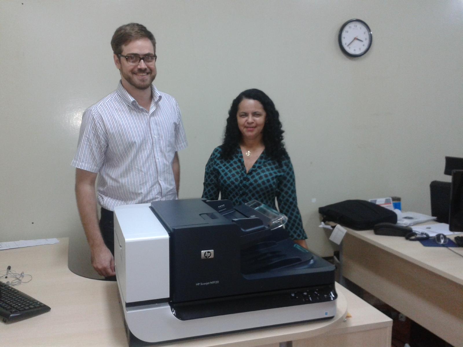 Ufac inicia processo de digitalização de documentos