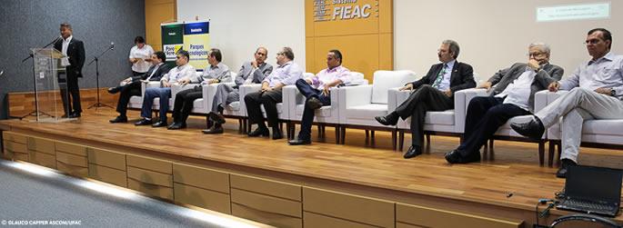 Ufac participa da abertura da Semana Nacional de Tecnologia