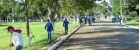 Ufac realiza limpeza no campus durante recesso