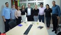 Ufac recebe visita da deputada Leila Galvão