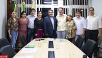 Ufac recebe visita do deputado federal Leo Brito