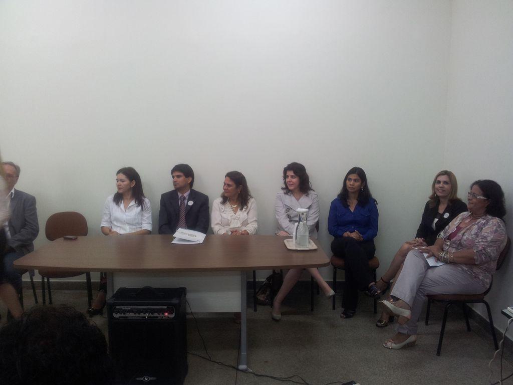 Vice-reitora da Ufac participa da abertura de capacitação da Deam