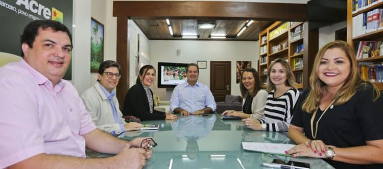 Convênio dará maiores chances de alunos de Jornalismo realizarem estágios na Secretaria de Comunicação (Foto: Gleilson Miranda/Secom)