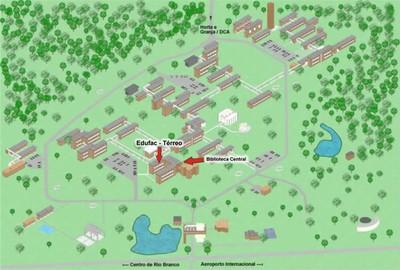 Mapa Como Chegar Edufac 2012